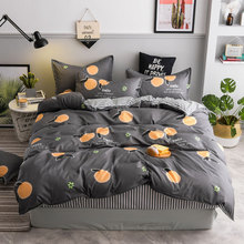 Bedding Set 4Pcs/Set Bed Textile Products 21Style Aloe Cotton Cute Modern Sheet Home Finished Product