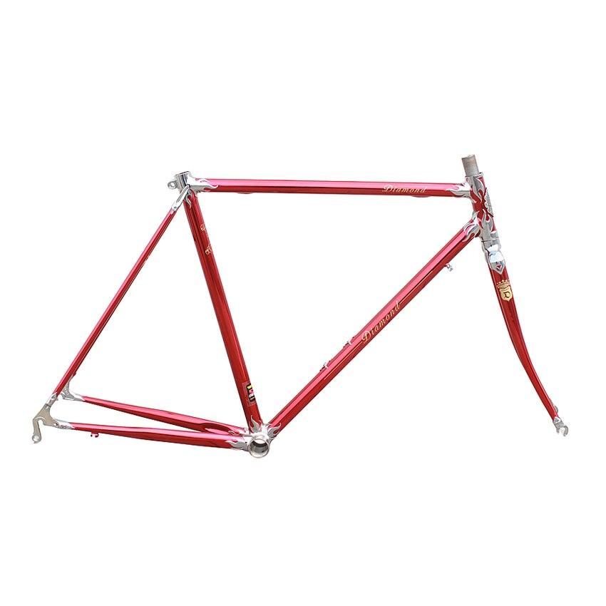 Fixie Bike Frame Reynolds 4130 Chrome Molybdenum Steel Road Bike Frame With Lug Frame Customize 650C 700C Bike Frame Bicycle