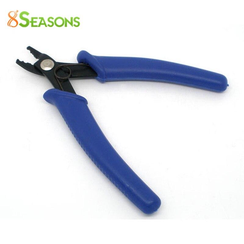 8SEASONS Jewelry Beading Bead Crimping Crimper Pliers Tool Blue 13cm (B06365)