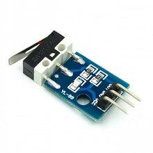 Ударный переключатель, модуль датчика столкновения автомобиля вертолета, модель робота для Arduino с кабелем Dupont