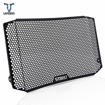 Motorcycle Accessories CNC Radiator Guard Protector Grille Grill Cover For Triumph Street Triple 675 Radiator Guard 2014-2016