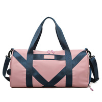 High-capacity Gym Bag Women Men Pink Sports Bag With Shoe Compartment Waterpfoof Fitness Training Dance Yoga Travel Bags