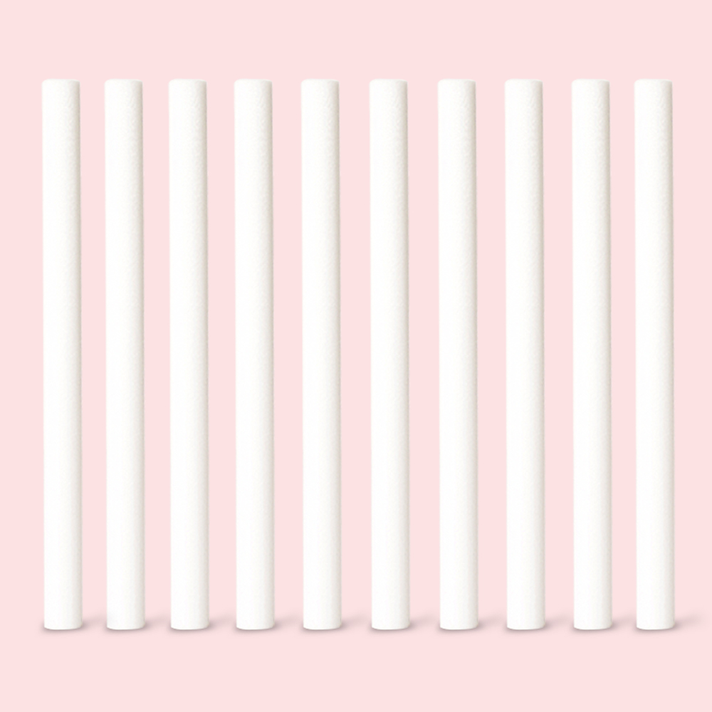 10 Pieces Air Humidifier Cotton Filter Humidifier Replacement Filter Sticks Cotton Swab Core Cotton Filter Sticks