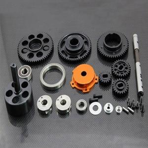 Image 2 - 3 velocidade de transmissão conjunto engrenagem para gtb corrida hpi rofun rovan km baja 5b/5t/5sc rc carro brinquedos peças