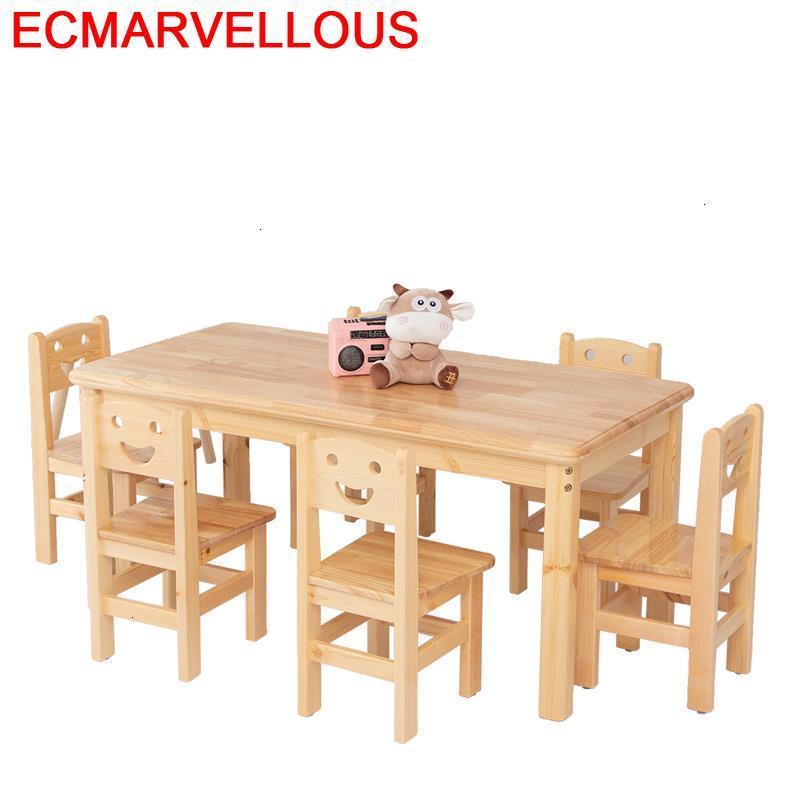 Desk Tavolo Per Avec Chaise Tavolino Bambini Escritorio Infantil