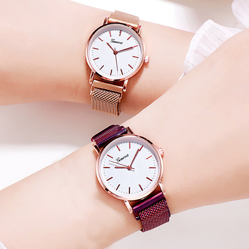 Casual Fashion Women Watches Rose Gold Ladies Bracelet Watches Reloj Mujer 2019 New Creative Waterproof Quartz Watches For Women