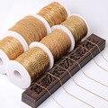 Цепочка для ожерелья 5 метров, оптовая продажа, серебряная, золотая, металлическая, латунная цепочка для браслета, для изготовления ювелирны...