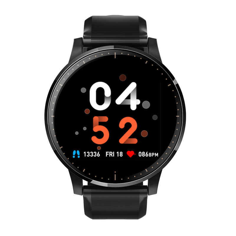 Smart Watch Q20 IP67 Kaca Tempered Kebugaran Tracker Heart Rate Monitor Pedometer Tahan Air Wanita Smartwatch untuk Android IOS