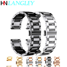 Stainless Steel Watch Bracelets Replacement Watch Band Polished Matte Brushed Finish Strap 16mm/18mm/20mm/21/22mm/23/24mm/26mm