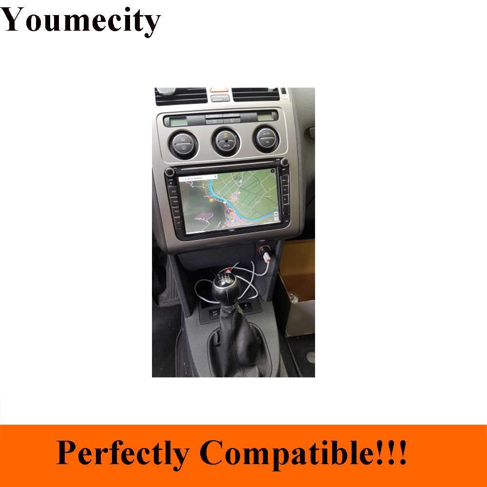 Android 9,0 Octa Core coche DVD Gps player para VW Volkswagen Jetta transportador T5 EOS Touran Scirocco Sharan Bora unidad de cabeza