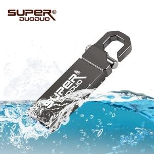 Image 4 - USB 2.0 バージョン 32 グラムの高速フラッシュドライブ防水金属キーチェーン。メモリスティック u ディスク