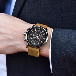 Image 3 - 2019 BENYAR Uhr Männer Top Marke Luxus Quarz Business herren Uhren Mode Militär Chronograph Sport Uhr Relogio Masculino