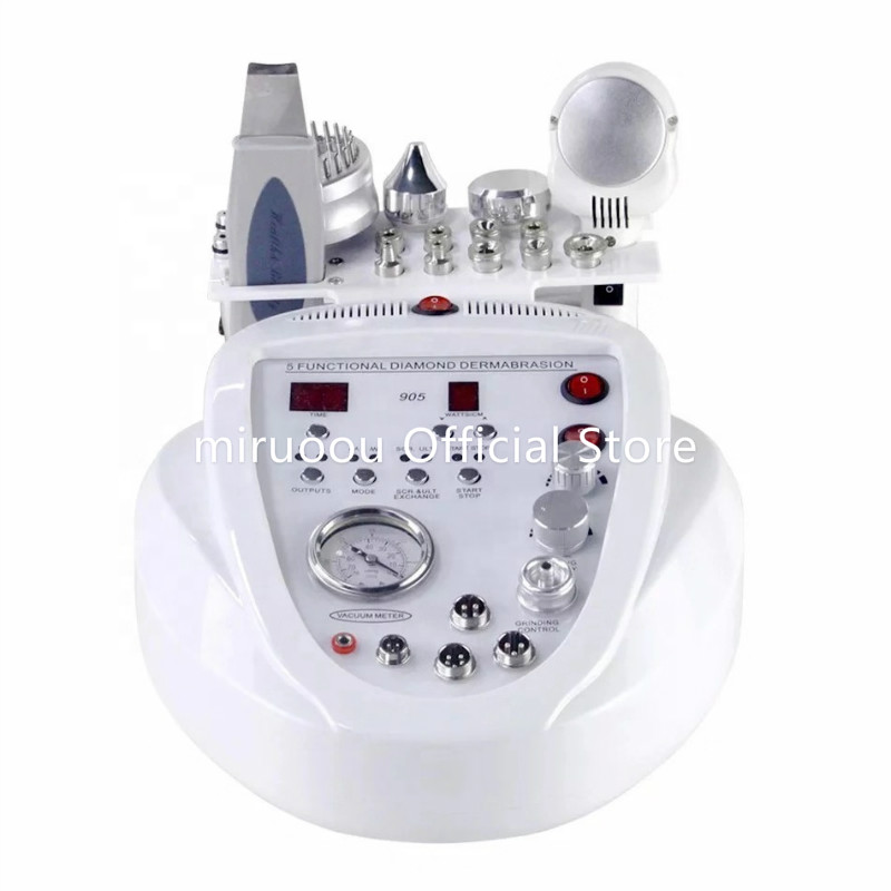 Multifunction 5 In 1 Skin Bella Power Peel Microdermabrasion Machine
