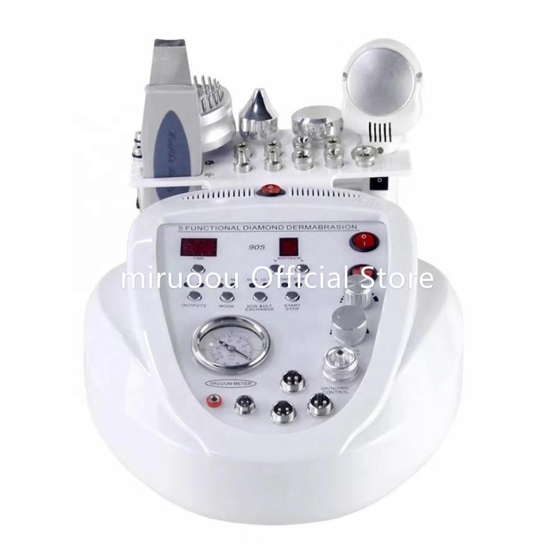 Multifunction 5 In 1 Skin Bella Power Peel Microdermabrasion Machine