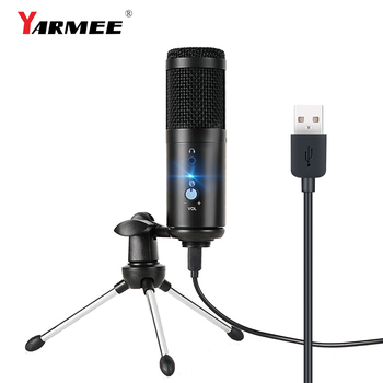 USB microphone condenser computer microfono condensador for PC  for Youtube studio recording internet meeting singing YR04 original samson c01u pro usb studio condenser microphone for youtube videos