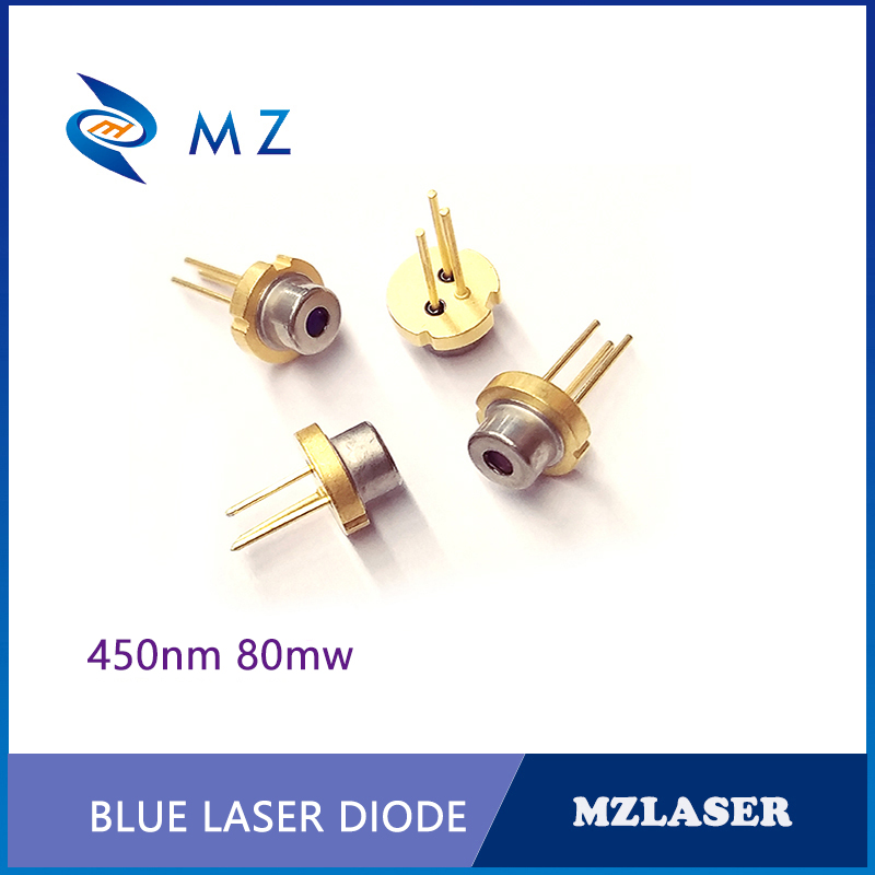<font><b>450nm</b></font> 80mw TO-18 Packaging IR Industrial <font><b>laser</b></font> <font><b>Diode</b></font> image