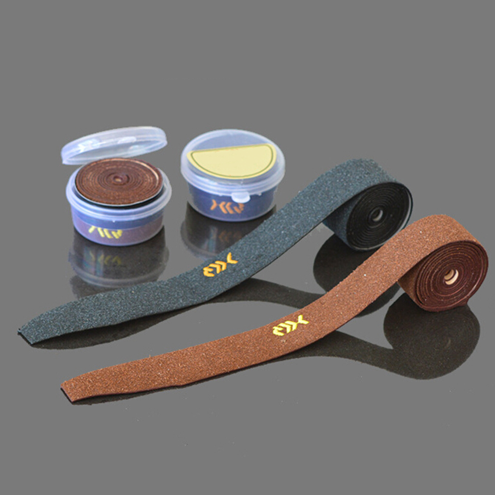 PU Leather Tennis Racket Bike Fish Over Grip Anti-slip Badminton Non-slip Hand Tape Dry Sweatband Random Color