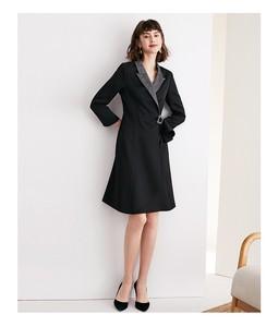 Image 1 - Womens suit dress 2019 autumn new collection waist A line skirt ol professional fit temperament womens wear