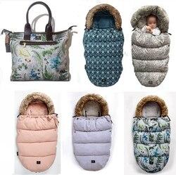 Dikke Warme Envelop Voor Pasgeborenen Kinderwagen Slaapzak voetenzak Baby Winter Winddicht Voetenzak Kinderwagen Voetenzak