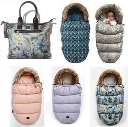 Thick Warm Envelope For Newborns Baby Stroller Sleeping Bag Foot muff Infant Winter Windproof Foot Cover Baby Stroller Footmuff