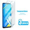3 шт.! 9H Защита экрана для Realme 7 Pro 6 7i 6S 5 Закаленное стекло для Realme X2 Pro X7 X50 5G X3 ударопрочная пленка на XT X U1