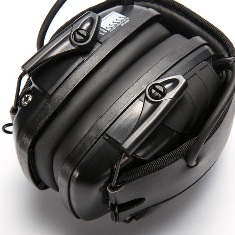 tiro tático fone de ouvido redução ruído