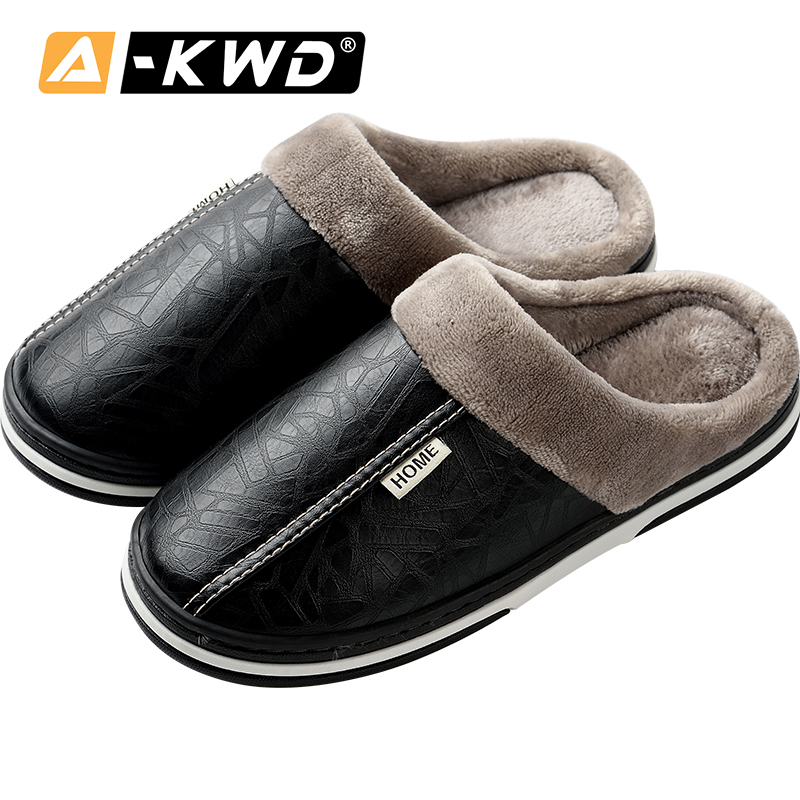 Men Slippers Winter Zapatillas Hombre De Casa Warm House Shoes Men Slippers Man Shoes Home Man Slippers House Sleepers Shoes Men