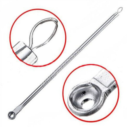 1PCS Blackhead Needles Stainless Remove Tool  Silver Blackhead Comedone Acne Blemish Extractor Remover Cosmetic Tool