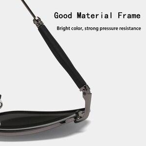 Image 5 - UV 2020 מעצב Mens משקפי שמש מקוטב UV400 עדשת גברים שמש משקפיים זכר מראה Eyewears אביזרי 2245