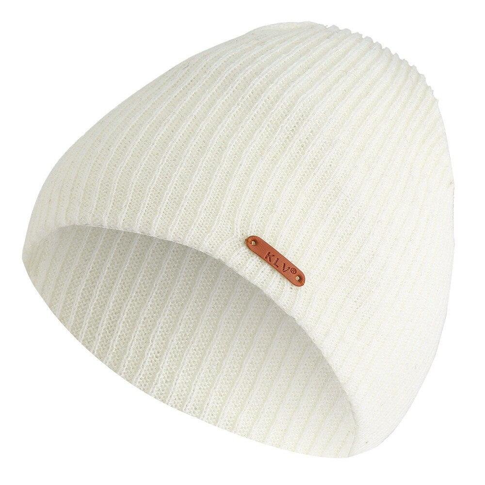Fashion Winter Women's Hats Men Hat A Cap Beanie Knitted шапка женская Baggy Warm Crochet Wool Knit Ski Beanie Skull Slouchy H5