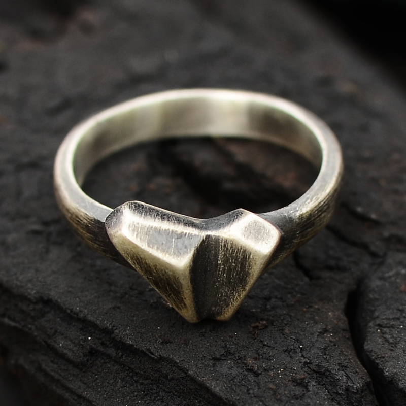 Original hand designed 925 Sterling Silver Ring with unique personality for men and women