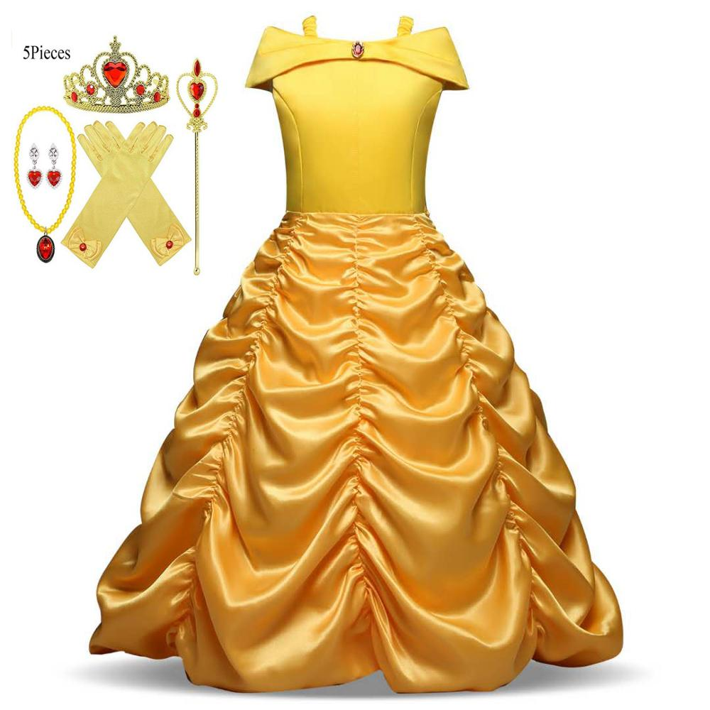 beauty-princess-dress-beauty-and-the-beast-girl-dress-child-party-costume-magic-wand-crown-child-costume-yellow-belle-princess