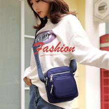 Lightweight Fashion Nylon Shoulder Bag Female Simple Practical Casual Trend Wild Travel Messenger
