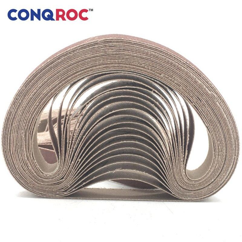 Aluminium Oxide 60 Grit 10mm x 330mm Sanding Belts Packs of 10