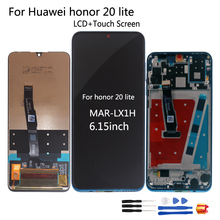 Original For Huawei Honor 20 Lite MAR LX1H LCD Display Touch screen For Honor 20 lite Screen LCD Russian Version Phone Parts LCD