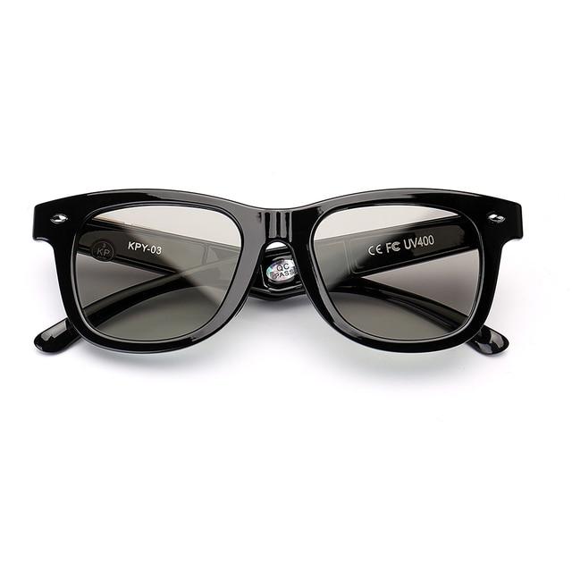 Gafas de sol polarizadas con diseño Original para hombre, lentes de sol con atenuación LCD, ajustables mannualmente, Estilo Vintage, 2019