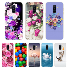 For Samsung Galaxy A6 2018 Case Soft Silicone Phone Cover Cases for Samsung A6 Plus 2018