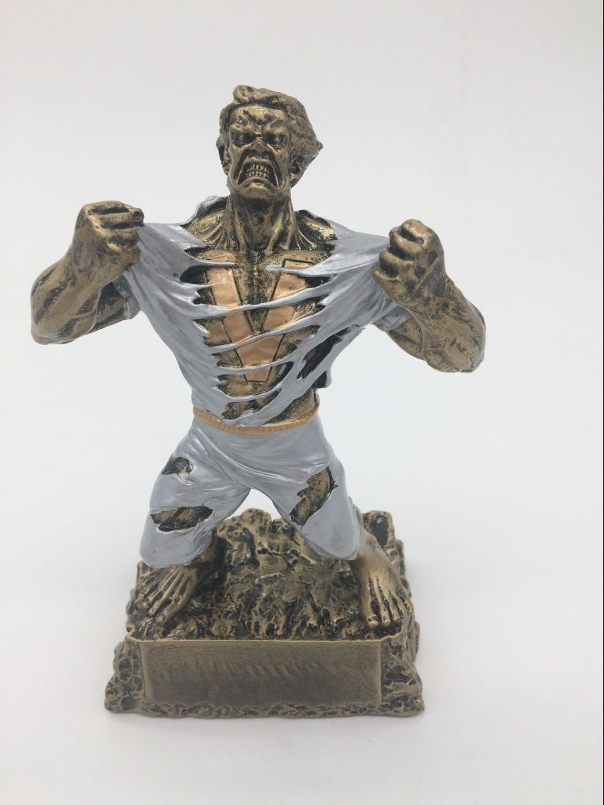 Hot Sale  Monster Victory Trophy By Decade Awards - Engraved Plates By Request - Perfect V