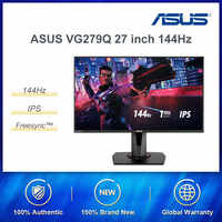 "ASUS VG279Q 27 ""Full HD 1080p IPS 144Hz 1ms 2k Gaming Monitor ojo (MPRT) DVI/DP/HDMI v2.0 FreeSync/Adaptiv"