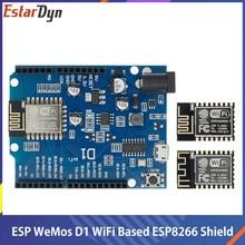 WeMos D1 – appareil électronique intelligent ESP-12F/12E, wi-fi, UNO, ESP8266, bouclier pour Arduino, Compatible IDE