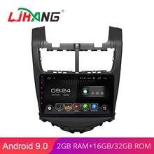 LJHANG 9 дюймов Android 9,0 автомобильный dvd-плеер для Chevrolet Aveo Sonic 2013 1Din Автомобильный радио мультимедиа wifi стерео