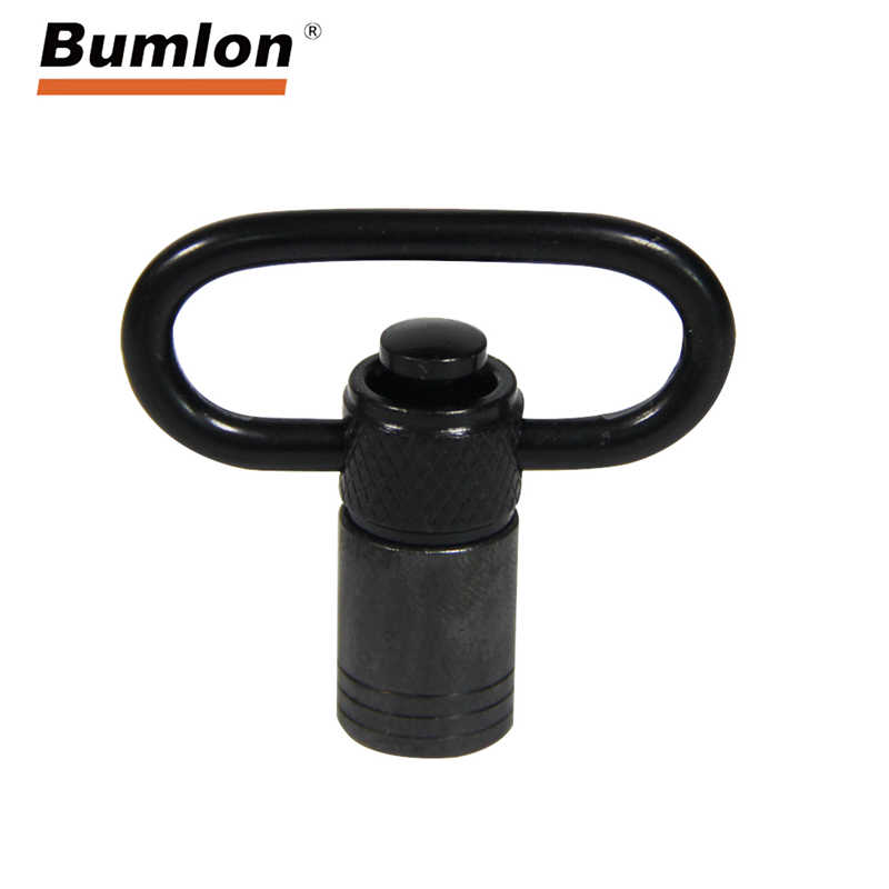 Push Button Quick Release Detachable Sling Swivel Mount Tactical Sling QD Loop Adapter For Gun Rifle Shotgun HT37-0106
