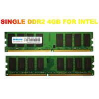 DDR2 PC2-6400 solo 800mhz DDR2 4gb 2GB 8GB Ram escritorio 1,8 V CL5 módulos de memoria de escritorio no ECC para placa base AMD Intel