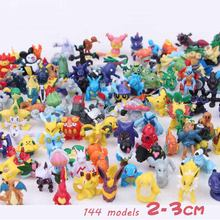 Takara Tomy Pokemon 2-3 Cm Blind Box Set Charmander Popplio Litten Pikachu Rowlet Fennekin Greninja Kids Anime Speelgoed(China)