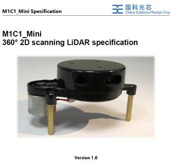 Laser radar range scanner Contrast RPLIDAR Navigation obstacle avoidance lidar cleaning robot For robot development platform