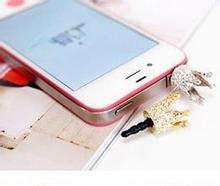 Mobile phone dust plug water drill pentagonal crown
