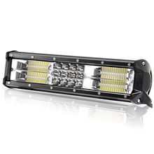 Triple Row LED Work Light Bar 12