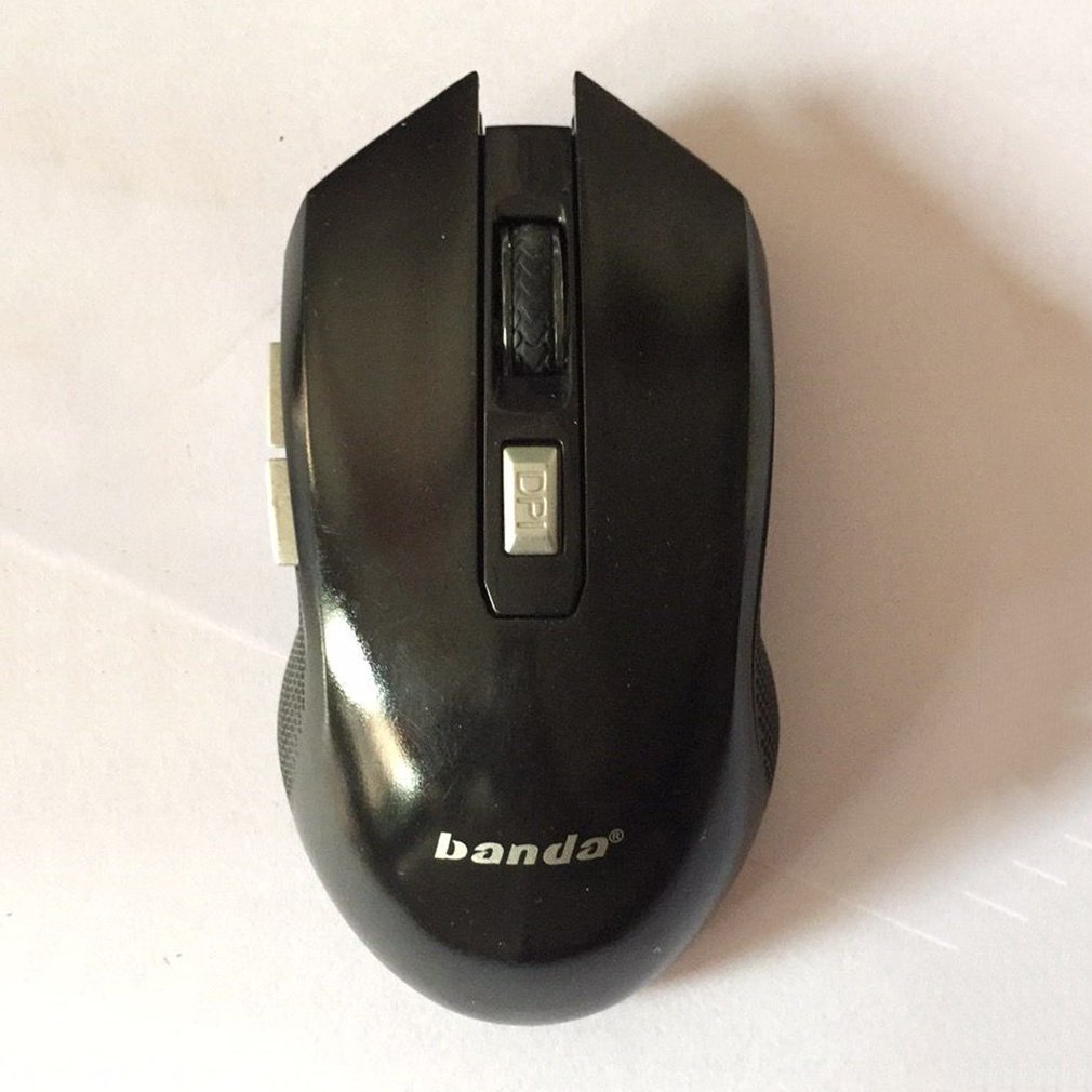W172 2.4GHZ Wireless Optical Mouse 1600 DPI 6 Keys Gaming Mouse For Game Office Leisure Use