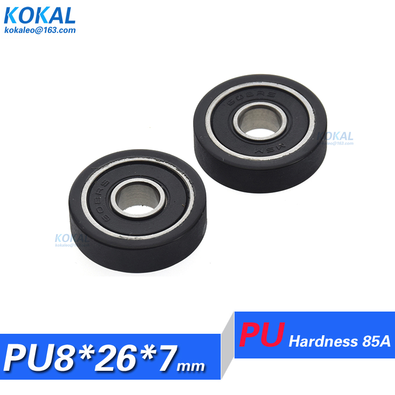 Double Metal Shielded Ball Bearing Bearings 608z 8*22*7 50 PCS 608ZZ 8x22x7mm