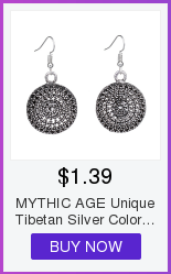 MYTHIC AGE Tibetan Silver Color Carved Flower Vintage Ethnic Drop Dangle Earrings Retail Jewelry Jewellery Gift For Women Girls 10